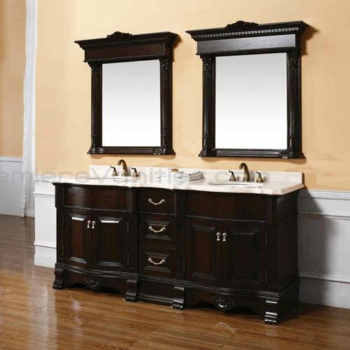 Комплект мебели для ванной комнаты. Фото: VIVON.RU