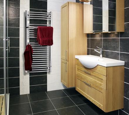 Пенал в ванной комнате. Фото: www.vivon.ru