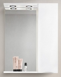 BelBagno Зеркало-шкаф MARINO-SPC-600/750-1A-BL-P-R Bianco Lucido
